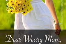 Hope for the Weary Mom / Just for you weary mom. Just in time. Our favorite things to bless, revive, revitalize, and restore you. Grab hope. Hope for the Weary Mom www.hopeforthewearymom.com
