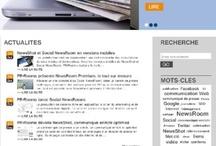 Offre / Description des modules de l'offre de communication Web de PR Rooms
