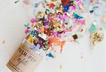 Celebrate: Decorations / Happy ideas for happy events!!