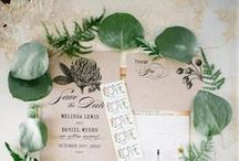 Wedding: Invitations & Papers / Lovely invitation suites, placecards, menus, & other wedding papers...