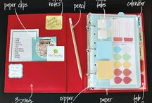 Planners / Organizing your life, organizers, planners