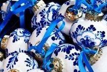 Blue & White / by Annette McClintock
