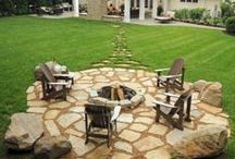 Dream Backyard / landscape and design for backyard oasis / by Michelle @ latenightquilter.com