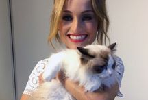 Awesome People with their Cats / Celebrities that love cats! Cats are Mans Best Friend, Cat Lovers, Feline Friends