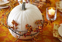 Awe-tumn / Autumn decor and inspiration for the home. / by Beylah Redke