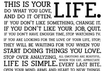 How to live your life.. / by Mair J