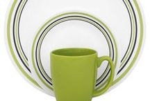 Pattern Inspiration - Green / Inspiration for our favorite green patterns / by Corelle Dining