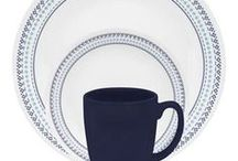 Inspired By... Folk Stitch / Boho style, blue, and aqua / by Corelle Dining