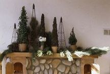 Look Book: Mantels & Railings by the Aspen Branch / our favorite holiday decorating ideas - www.aspenbranch.com 970-925-3791