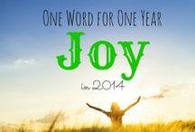 One Little Word 2014: Joy