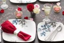 Celebrate Love / Valentine's Day decor, designs, and delicious treats for your loved one / by Corelle Dining