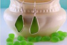 A Day at the Beach  / Specializing in fine sea glass jewelry creations using rare sea glass gems  https://www.seaglassjewelrybyjane.com