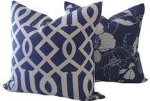Beach House Pillows - Shop California Livin Home / http://www.californialivinhome.com/home.html