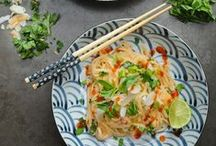 make these [Asian-inspired] / Asian-inspired recipes for main courses and side dishes