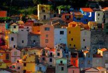 Sardinia places & food / Gli splendidi paesaggi della Sardegna che si uniscono alla ottima cultura culinaria Sarda.