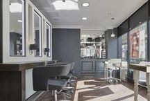 Salon Design / Each Westrow salon has it's own individuality. Here you can get up close and personal in all of our salons to influence new flavours of salon design in the future!  http://www.westrowhair.com/salons/