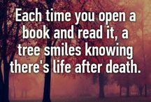 "Books and quotes / [Like I said, ""Bookworm""]"