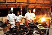 Great tastes of Africa / A vast array of culinary excellence that inspires us to produce great food at our establishments in Victoria Falls, Zimbabwe, and Chobe, Botswana