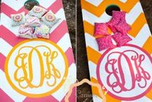 {Monograms} Personalization Station / by Kelly Owens