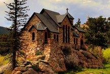 Beautiful Chapels and Churches / by Rose Brandenburg