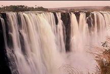 All Angles on Victoria Falls / The iconic Victoria Falls, Zimbabwe.