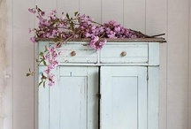 painted furniture | vintage
