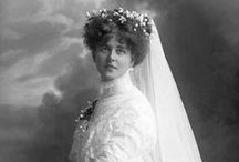 Wedding dresses of the past