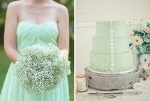 Mint Wedding / Colour palettes and inspirations for a mint-coloured wedding