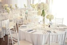 All White Wedding / Inspirations for a total white wedding