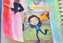 Art Journaling for PreK and beyond