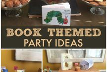 Bookworm Birthday Party / Bookworm or Book-themed Birthday Party Ideas