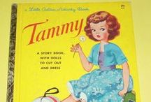 Vintage Tammy and Toys. . . / Just a few vintage things I collect with my name and a few vintage things I had as a kid.  Happy stuff. <3 / by Tammy Tutterow