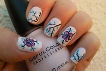 Nails to try! / by Sandy Cherry