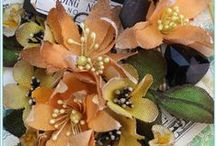 craft: Fabric & Paper Flowers / Links to fabulous fabric and paper flower tutorials and inspiration.  Includes ribbonwork and silk ribbon embroidery.