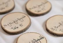 Place Cards / Wedding place card ideas.