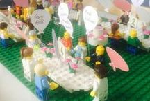 Wedding - Lego! / Wedding ideas and inspiration that use Lego and Lego figures! More ideas at http://www.toptableplanner.com/blog/lego-wedding-seating-plans