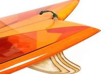 Surfing and Surfboards / Surfboards Shaped by Graham P Day in California.