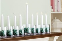 Chanukah Hutzpah / I'm breaking the rules and decorating like mad during Chanukah, no more menorah in the corner for us. / by Melissa Shapiro