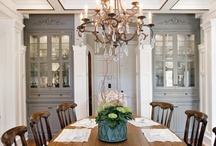 DINING ROOM / These dining rooms are warm and inviting. I can visualize having meals with family and friends here.