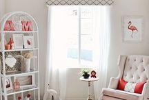 | Nursery & Baby - girl | / Inspiration and items for a baby girl nursery