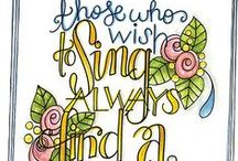Quotes For Art / Quotes for art, art journals, art tags, cards, papercrafts, stamping, and scrapbooking. / by Tammy Tutterow