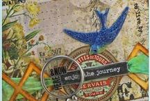 Tim Holtz Tutorials & Projects / Tutorials and projects featuring products by Tim Holtz for Ranger Ink, Idea-ology, Sizzix, Tonic, and Stampers Anonymous. / by Tammy Tutterow