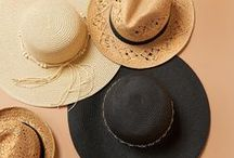 Girls' Guide To Hats / Keep cool this summer with a stylish hat! From sporty to fashion forward, we have something for everyone, plus Cash Back from Ebates.ca!