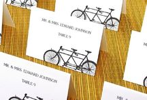 On a bicycle made for two...cycling wedding seating plans / Daisy, Daisy....read more about bicycle themed wedding seating plans on our blog: http://www.toptableplanner.com/blog/on-a-bicycle-made-for-two-a-wedding-seating-plan-on-two-wheels