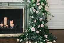 Garden Wedding Style / garden wedding ideas, romantic wedding ideas, foraged wedding bouquets