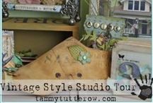 craft: Creative Spaces / Ideas and inspiration to decorate and make more efficient the space in which you create.