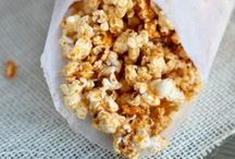 Good Eats- Popcorn / Popcorn, snack mix, and nuts / by Lara Streck