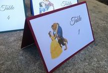 Disney wedding seating plans / Great table plan ideas for a Disney themed wedding. Find more on our blog http://www.toptableplanner.com/blog/disney-themed-wedding-seating-plans
