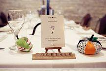 Homespun Wedding Seating Plans / Discover more homespun wedding seating plan ideas on our blog: http://www.toptableplanner.com/blog/homespun-wedding-seating-plans