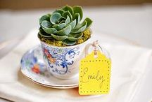 Tea Party Wedding Seating Plans / Lots of ideas for a Tea Party themed wedding! From table plans to place cards to escort cards. We've put lots of ideas together at  http://www.toptableplanner.com/blog/a-tea-party-wedding-seating-plan